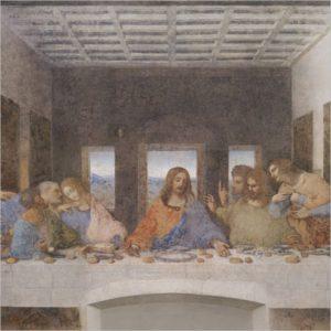Leonardo da Vinci: prime idee per l'Ultima Cena