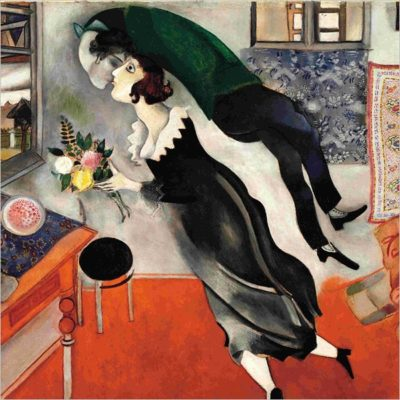 Marc Chagall come nella pittura così nella poesia