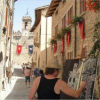 Pittori alla Rocca Longobarda - 6a estemporanea di pittura