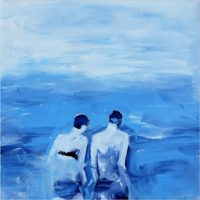 Alketa Bercaj Delishaj. The swimmers