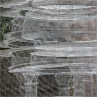 Edoardo Tresoldi. Cube temple - An ethereal creation of wire mesh in Singapore