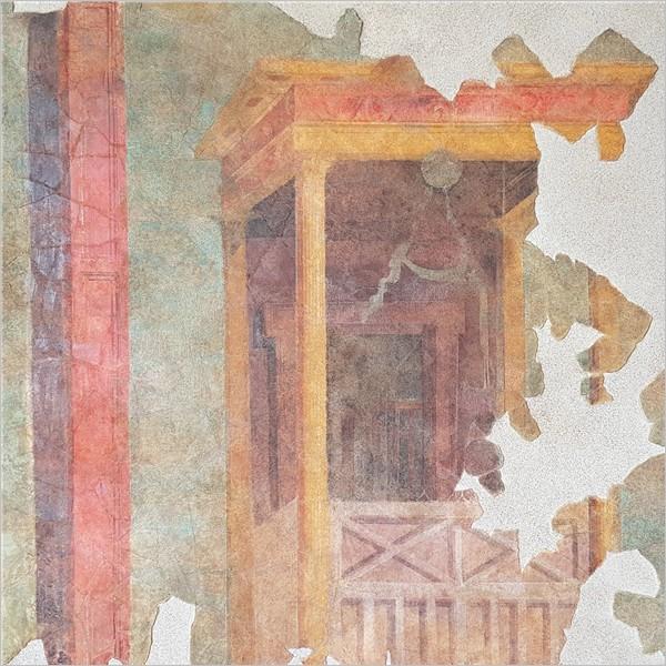 Il Gruppo FAI Maremma per Settefinestre: il recupero di un affresco. Dettagli di interni tra la villa romana e la città di Cosa