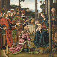 """""""L'Adorazione dei Magi"""" del Perugino in mostra a Palazzo Marino"""
