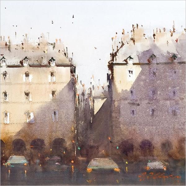 Quadri di Parigi - Opere di Fanelli, Galimberti, Muner, Zbukvic