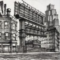 Sergei Tchoban. Den-city - Urban landscape