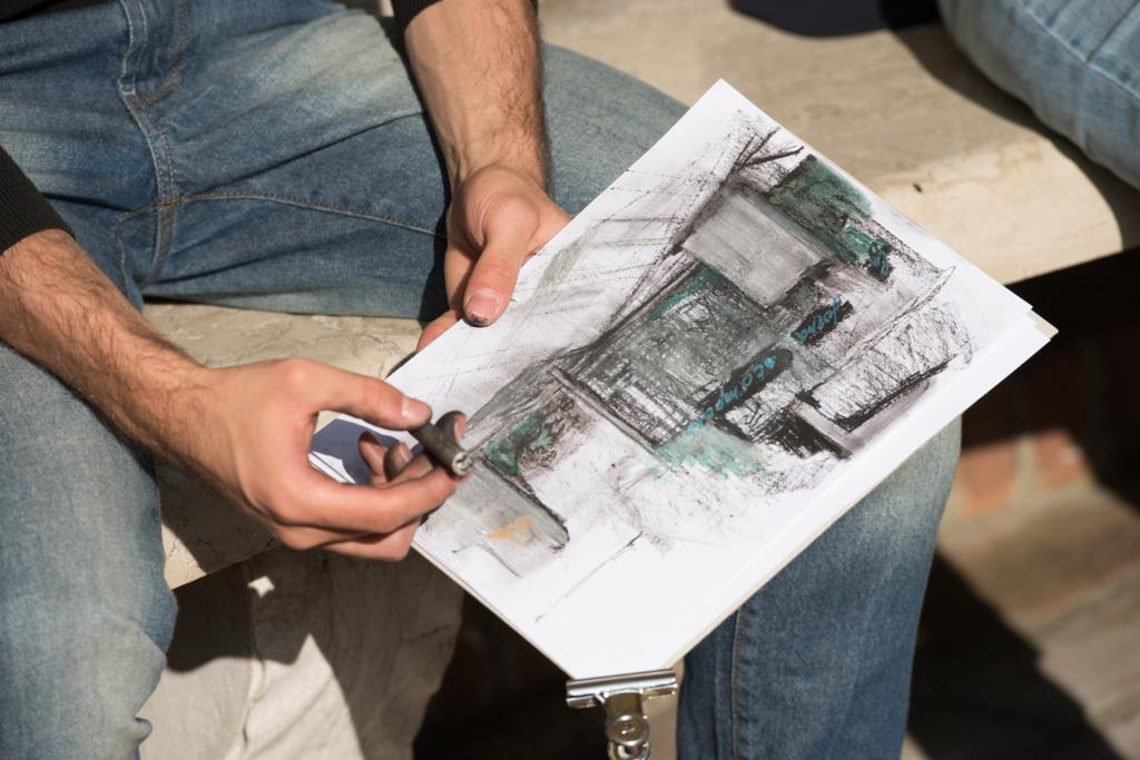Drawing the Guggenheim 2018