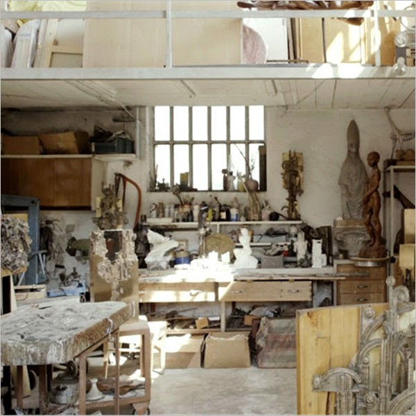 Gli Atelier nascosti, visite guidate gratuite in tre studi d'artista