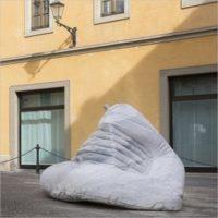 I marmi di Henraux a San Miniato - Percorso di sculture monumentali nella città