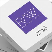 RAW - Rome Art Week 2018