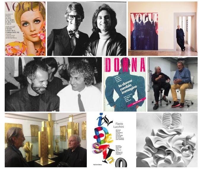 """""""Ricomincio da 90"""". I 90 anni di Flavio Lucchini e il suo lungo percorso nella moda come art director, editore, artista"""