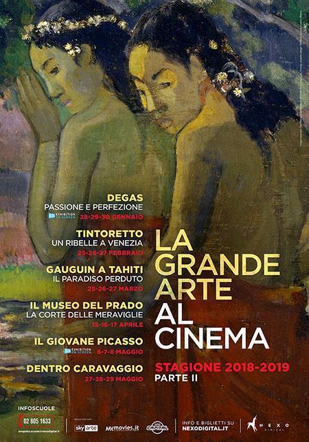 La Grande Arte al Cinema - Stagione 2019