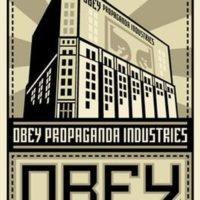 Obey. Make art not war