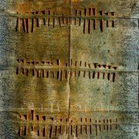 Franca Ghitti: altri alfabeti - Sculture, installazioni e opere su carta