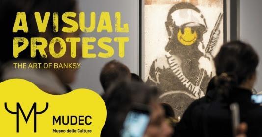 Banksy is not on Facebook - Visita guidata alla mostra al Mudec