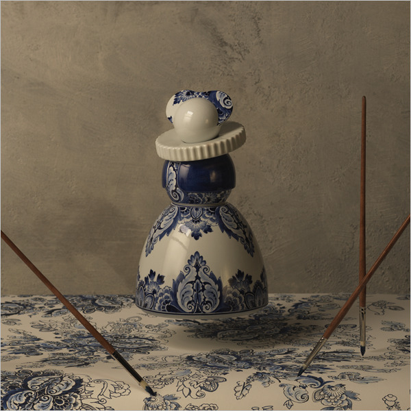 Glorious Delft Blue. Il Secolo d'oro della ceramica blu di Delft