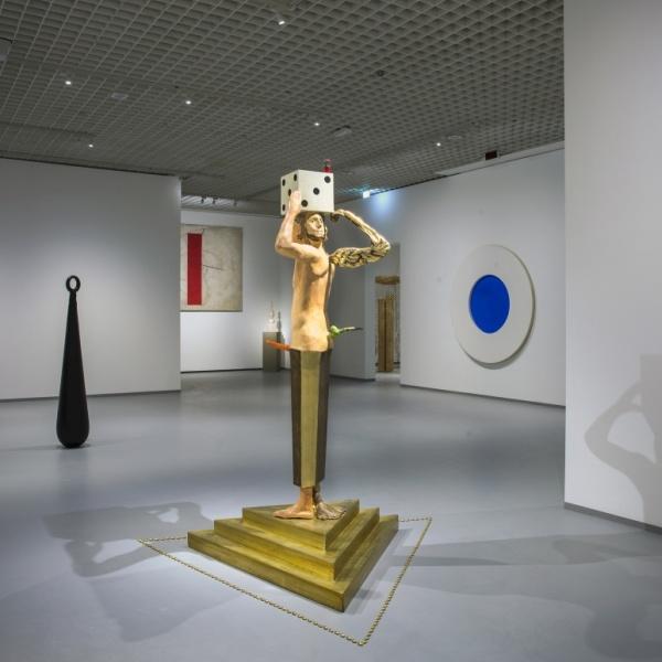 Pittura Spazio Scultura. Opere di artisti italiani tra gli anni Sessanta e Ottanta