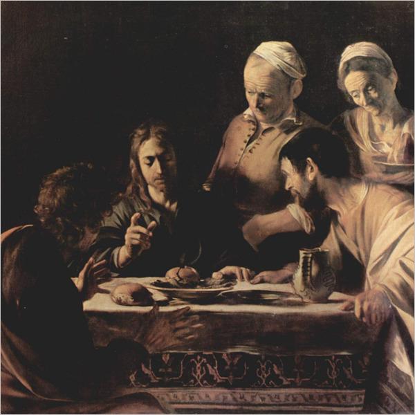 Attorno alla Cena in Emmaus. Caravaggio incontra Rembrandt
