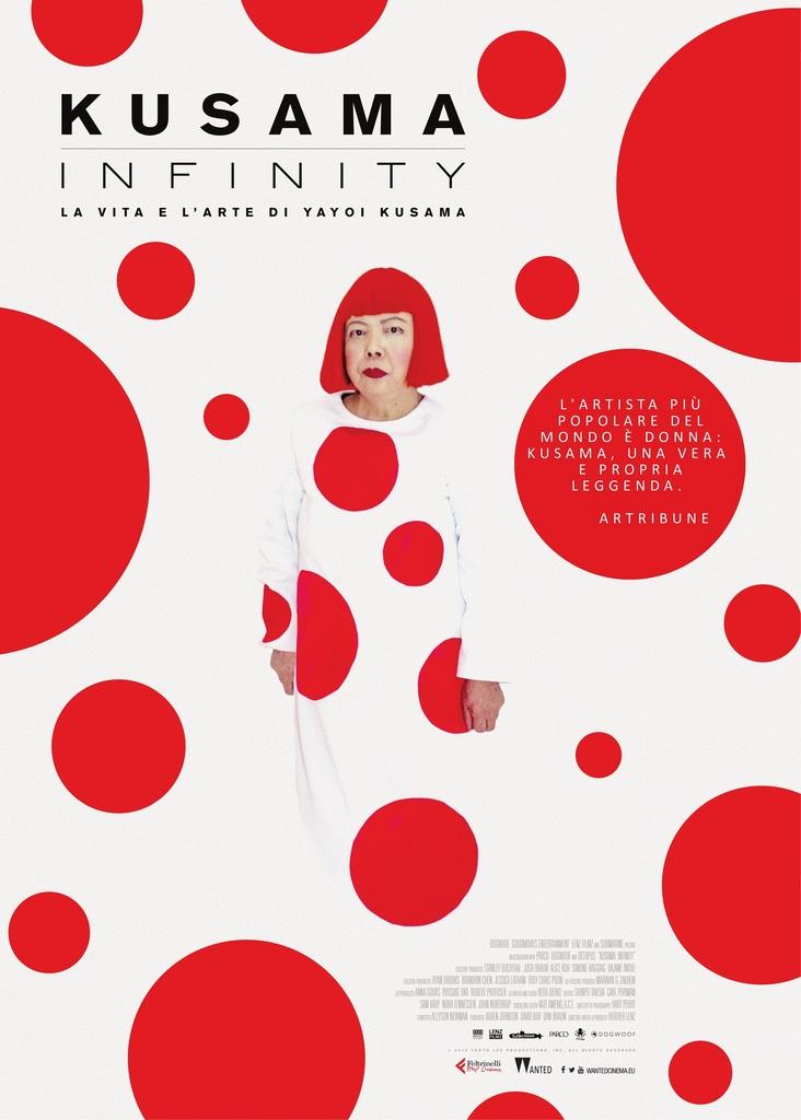 "Cinema d'Arte: ""Kusama - Infinity"" di Heather Lenz"