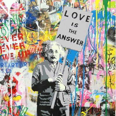 Mr. Brainwash. Milan is beautiful