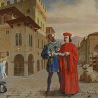 Padre e figlio. Ettore Pistoletto Olivero e Michelangelo Pistoletto