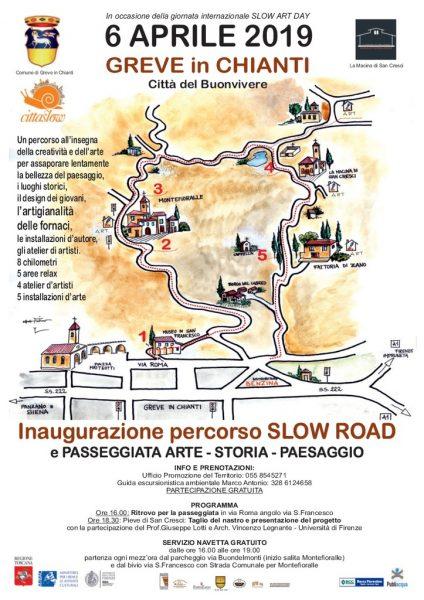 Slow road. Il percorso museale all'aperto tra arte e design