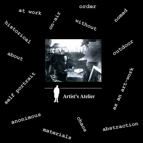 Artist's Atelier - Real Time Exhibition no.22 by Franco Vaccari