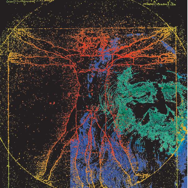 A come Leonardo. Esperienza fluorescente