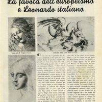 Il Leonardo di Giorgio Castelfranco e il culto nel genio nel Novecento