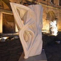 Le sculture di Pablo Atchugarry a Pietrasanta