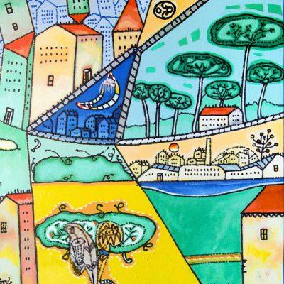 Polis e oikos nella pittura di Pier Luigi Ghidini