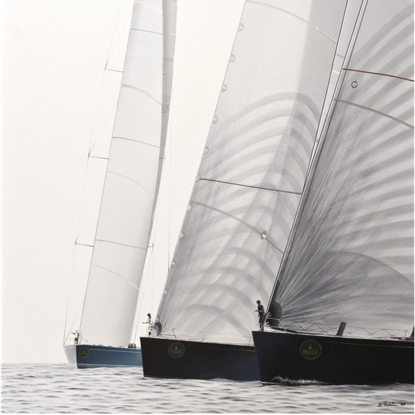Shuai Zong e Lorenza Cavalli. Sailing with time