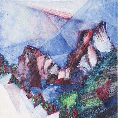 Altissimi colori. La montagna dipinta: Testori e i suoi artisti, da Courbet a Guttuso