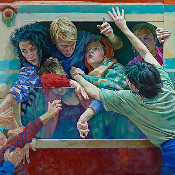 Displaced / Storie in movimento - Opere di Xenia Hausner