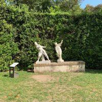 """Il restauro del """"Gioco della civetta"""" nel Giardino di Boboli"""