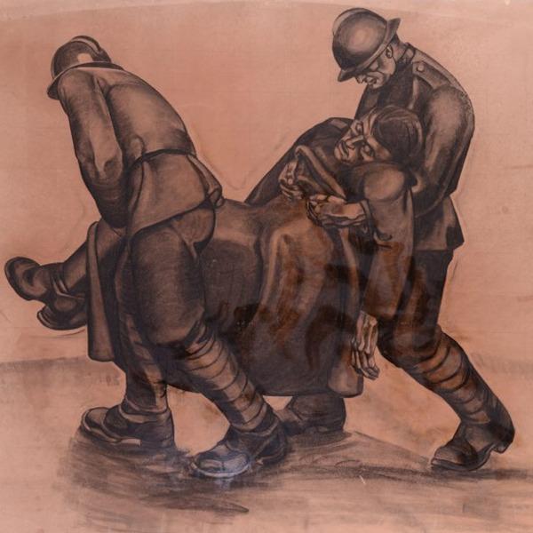 La memoria della guerra. Antonio G. Santagata e la pittura murale del Novecento
