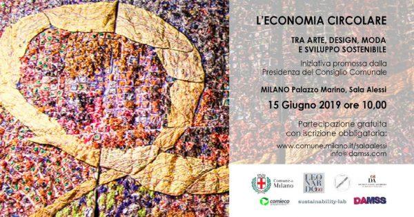 L'economia circolare tra Arte, Design, Moda e sviluppo sostenibile