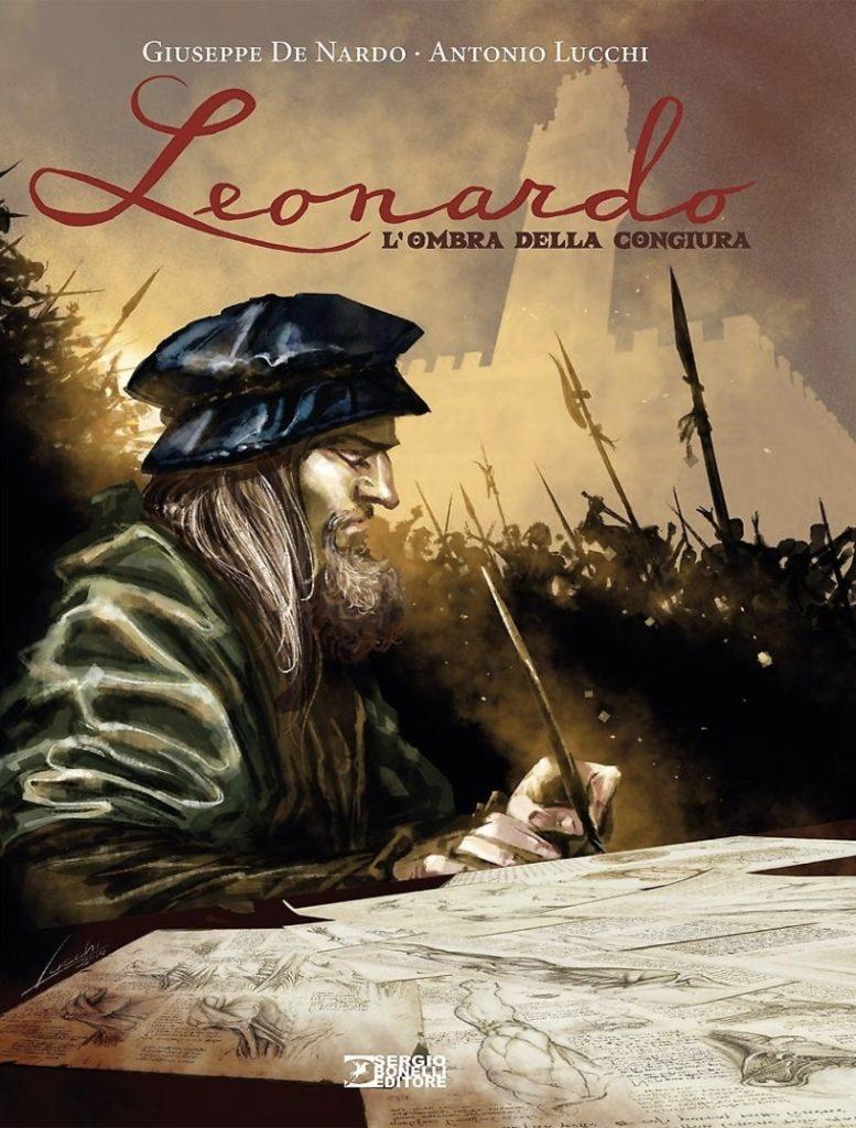 """""""L'ombra della congiura"""": Lucchi e De Nardo firmano a fumetti un omaggio a Leonardo"""