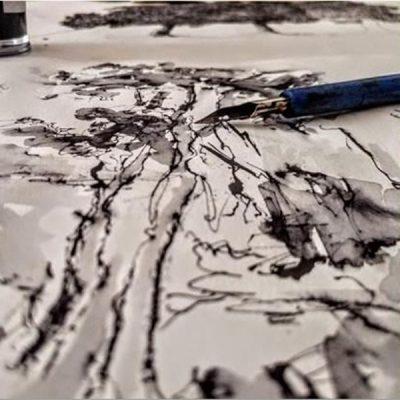 Tracce di nero, tra grafite e inchiostro - Laboratorio per ragazzi