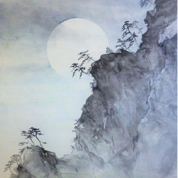 Workshop di pittura giapponese suiboku-ga