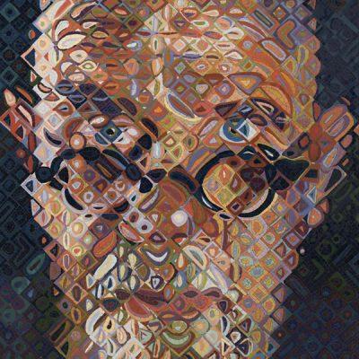 Chuck Close. Mosaics