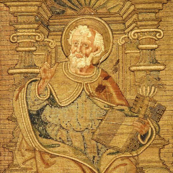 Fili d'oro e dipinti di seta. Velluti e ricami tra Gotico e Rinascimento