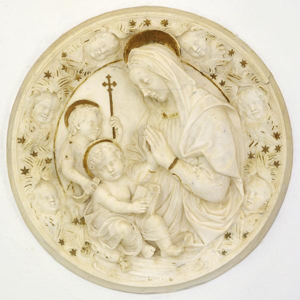 La Madonna col Bambino e San Giovannino di Benedetto da Maiano al BIAF 2019