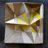 Mara van Wees. La corte aperta - Geometria volume colore sentimento