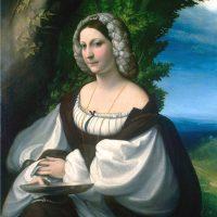 """""""Ritratto di giovane donna"""" del Correggio. Un capolavoro dal Museo Ermitage di San Pietroburgo"""