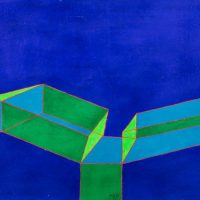 Achille Perilli. Irrational geometries
