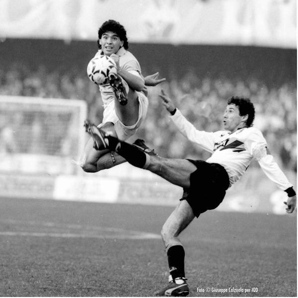 I grandi calciatori - Mostra fotografica di Giuseppe Calzuola