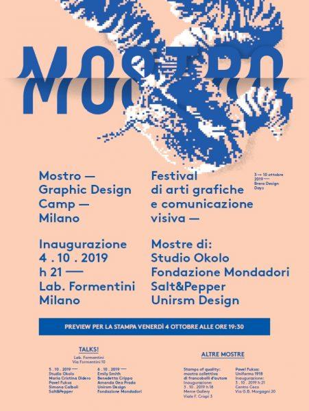 Mostro - Graphic design camp 2019