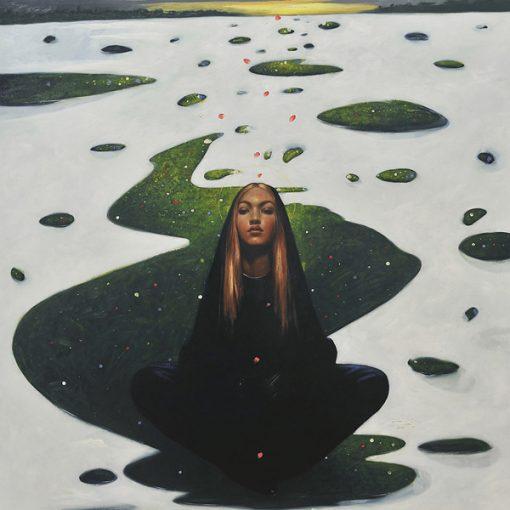 Omar Galliani. Dipinta - La metis dell'acqua