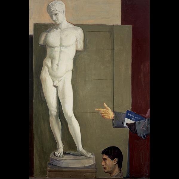 """Presentazione: """"La scuola di Funi (Ritratto con la statua)"""""""