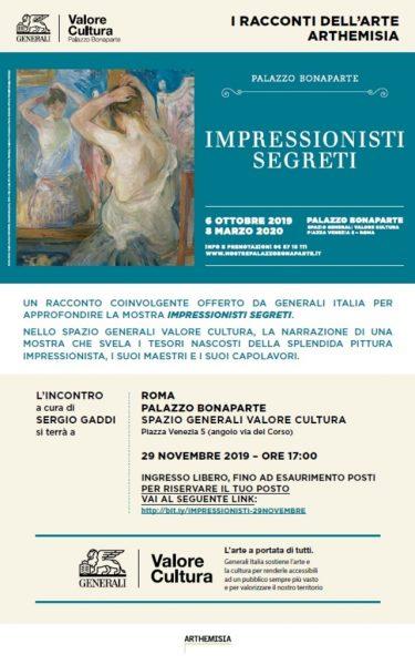 I Racconti dell'Arte: Impressionisti segreti